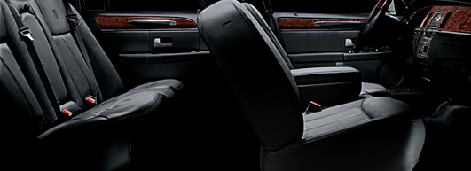 Be taken to your destination in style and comfort in a Lincoln Town Car with Marin Car Service
